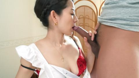 Anna Mihashi fucked and made to provide Asian blowjob - JavHD